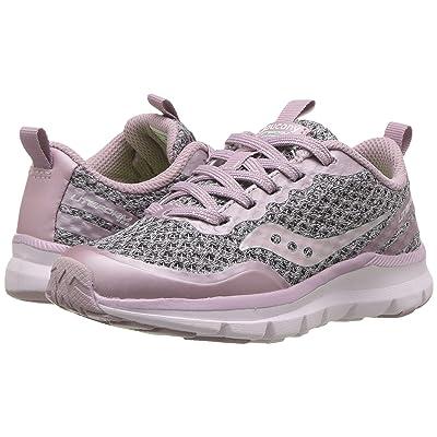 Saucony Kids Liteform Feel (Little Kid) (Blush) Girls Shoes