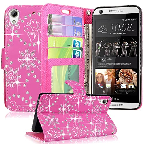 new style 41ae2 ad700 Htc Desire 626s Flip Case: Amazon.com