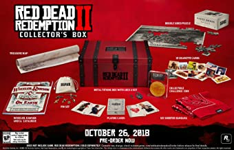 Red Dead Redemption II 2 - Collector's Box - NO GAME DISK