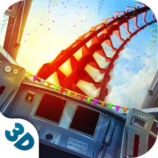 Insane Roller Coaster Train Suburban Driving: Hyper Realistic Amusement Park Public Transport Railway Station Heavy Vehicle Delivery Sim