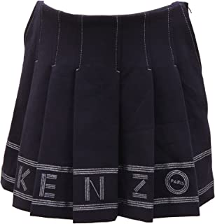 76441c90dd6 Kenzo 2585V Gonna Bimba Kids Clara Blue Skirt Girl Kid