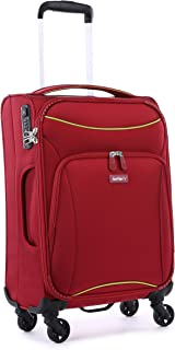 Antler 4263143026 Zeolite 4W Cabin Roller Case Carry-Ons (Softside), Red, 56 cm