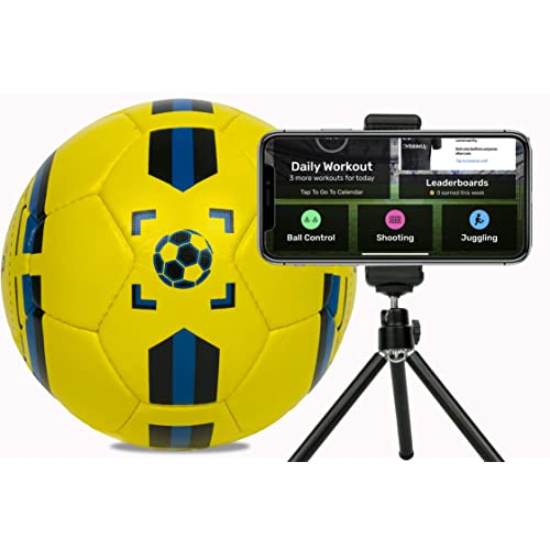 71bdb22b0 DribbleUp Smart Soccer Ball Training App - Size 4 5