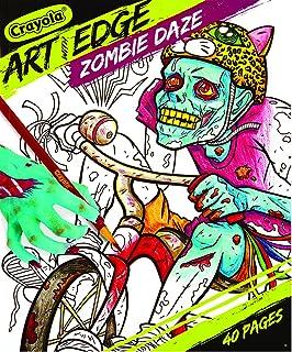 Crayola Art with Edge Zombie Daze Book, Multi-Colour, Cy04-0032