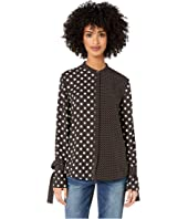 Paul Smith - Polka Dot Mixed Top