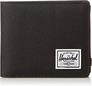 Herschel Unisex-Adult's Roy + Coin RFID Blocking Wallet, black, One Size