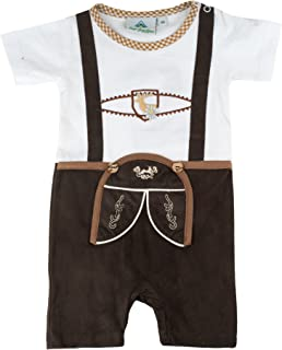 Isar-Trachten Babybody Lederhose Body Baby