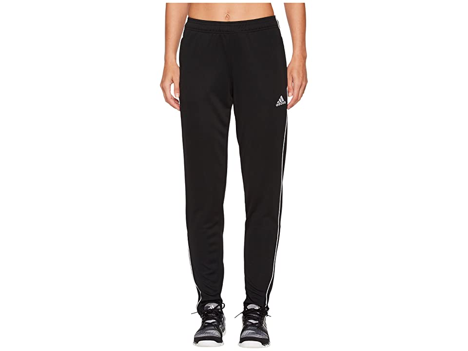 adidas Core18 Training Pants (Black/White) Women