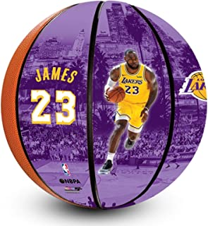NBA Lebron James Los Angeles Lakers Officially Licensed Debut Basketball