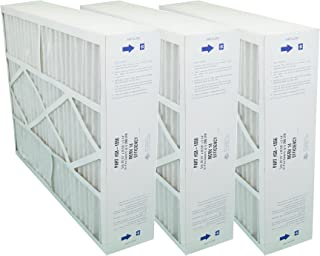 G8-1056 GENUINE 20x25x5 (Actual Size: 20-1/4 x 25-3/8 x 5-1/4) MERV 14 GOODMAN, CARRIER, ELECTRO-AIR, FIVE SEASONS, AMANA 20X25 MEDIA FILTERS - Case of 3 Filters