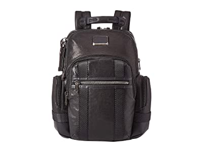 Tumi Alpha Bravo Nathan Backpack (Black 1) Backpack Bags