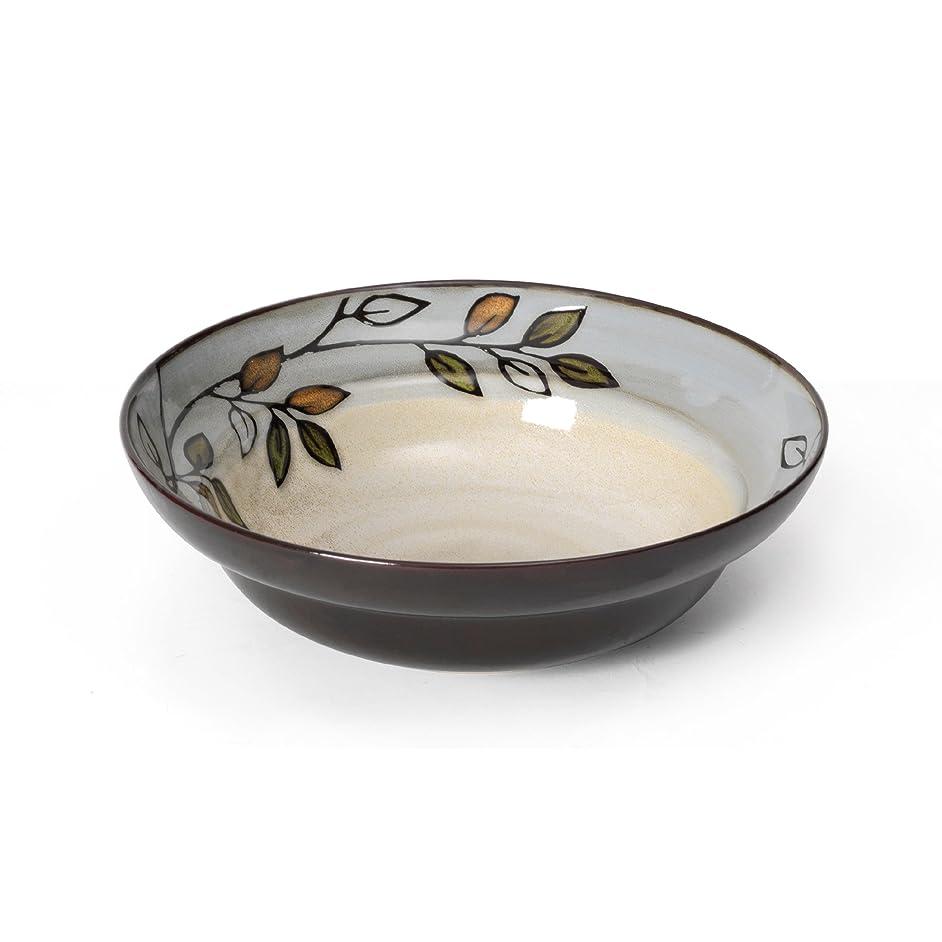 Pfaltzgraff Rustic Leaves Round Vegetable Bowl (9-1/2-Inch)