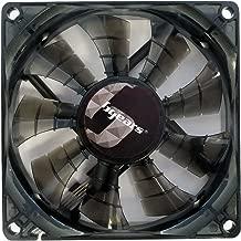 Bgears 90 mm 2 Ball Bearing High Speed High Performance Fan, Translucent Black (b-PWM 90 Black 2ball)