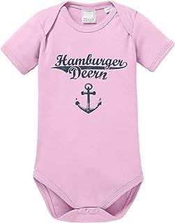 EZYshirt Hamburger Jung & Deern Vol. 2 Baby Body Shortsleeve Bio Baumwolle