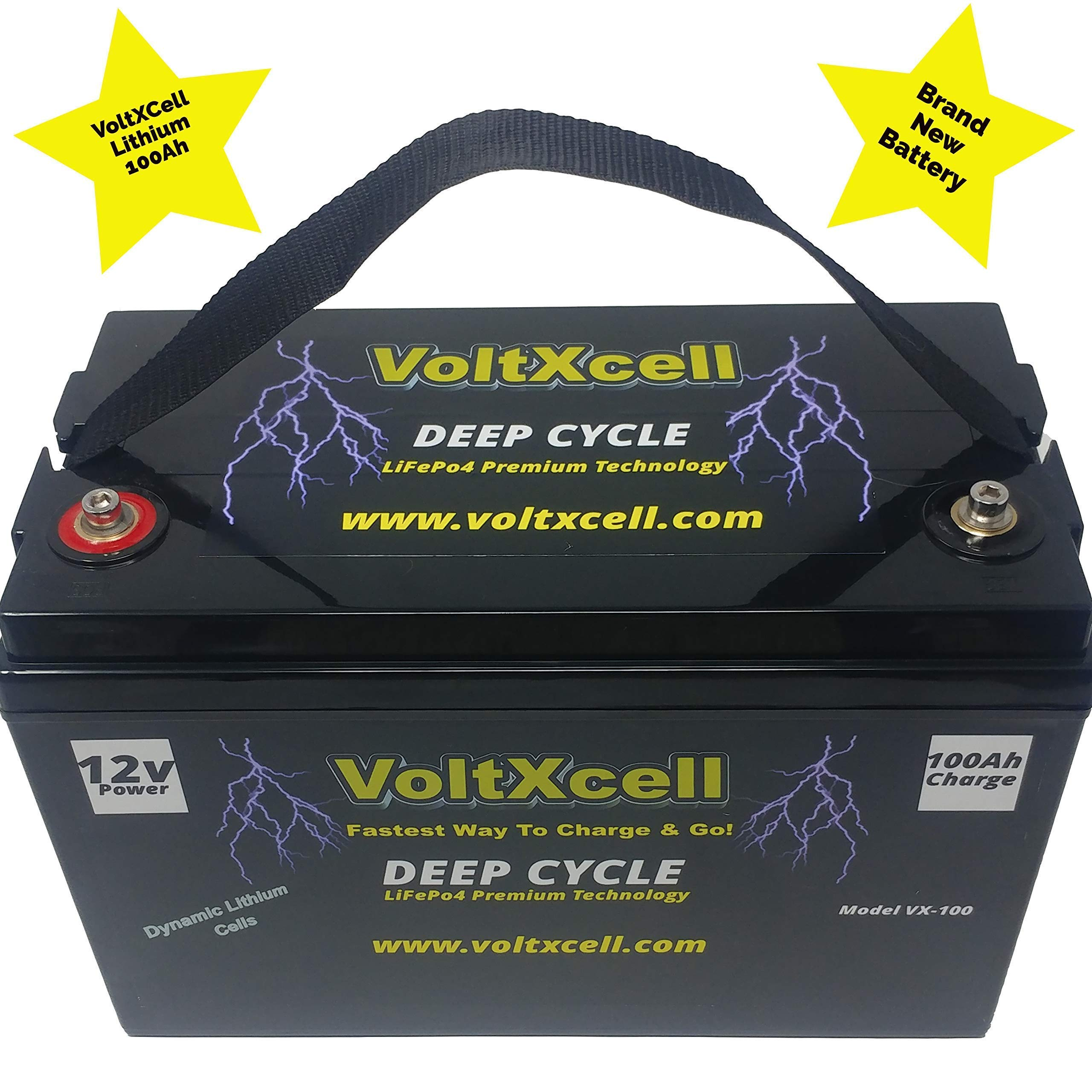 Lithium Battery VoltXcell Delivery Included