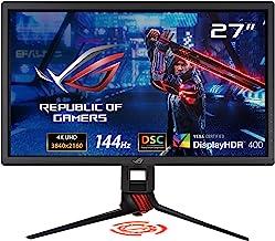 "ASUS ROG Strix XG27UQ 27"" HDR DSC Gaming Monitor, 4K (3840 x 2160), 144Hz, IPS, 1ms, Adaptive Sync, DisplayHDR 400, DCI-P3..."