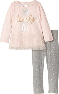 Mud Pie - Sparkle Tunic & Leggings Set (Toddler)