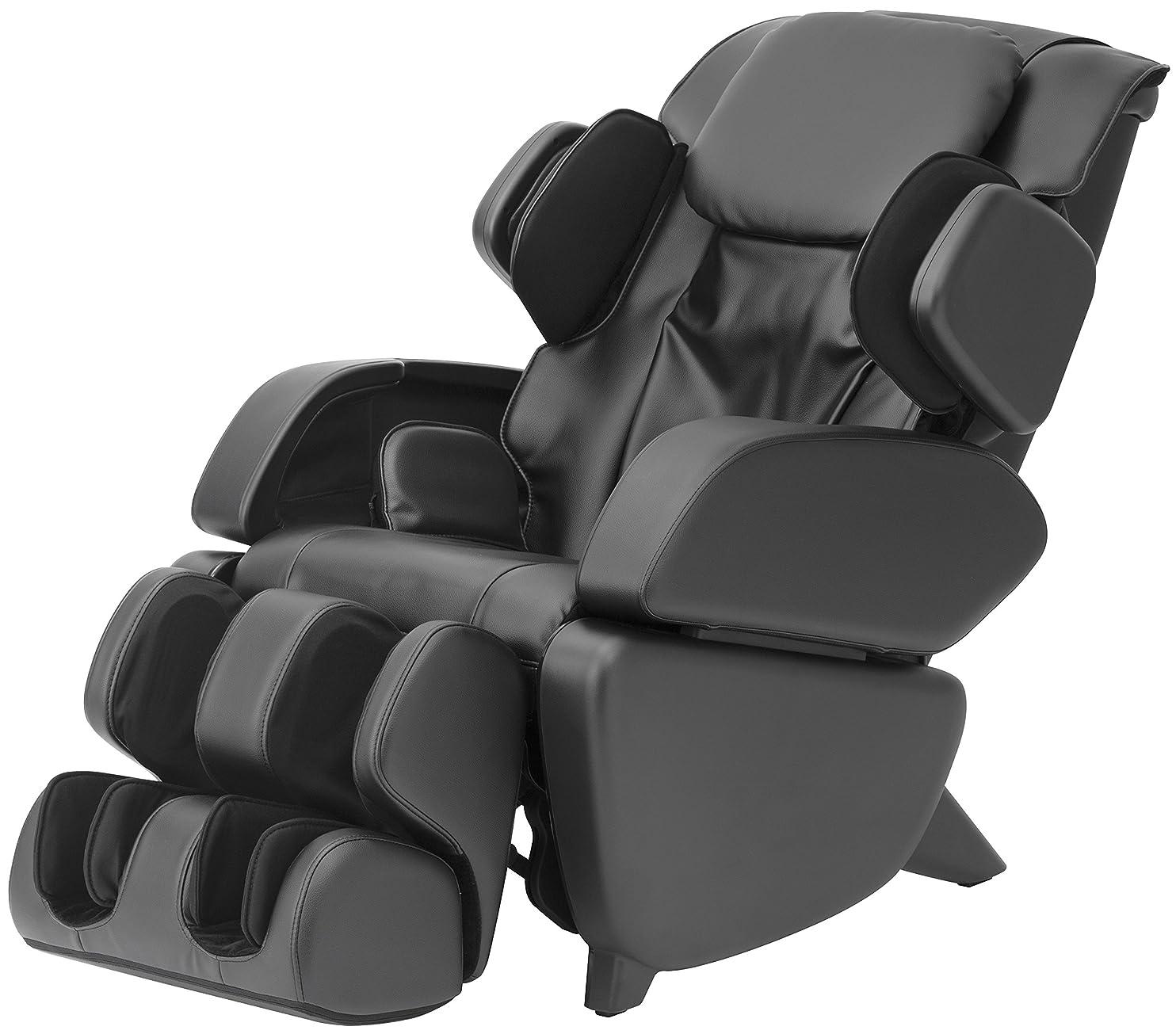 戦争哺乳類じゃないスライヴ マッサージチェア くつろぎ指定席 「つかみもみ?エアーマッサージ機能搭載」 通販限定モデル ブラック CHD-9004-S(K)