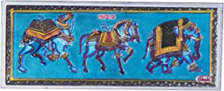 Kaarigari Artifacts Rajasthan Elephant Horse Camel Fridge Magnet/Multipurpose Magnet