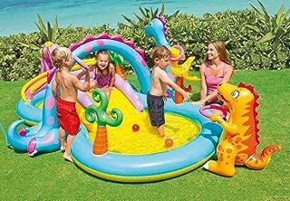 Inflatable Water Fun Kiddie Pool Dinoland Play Center - 57135