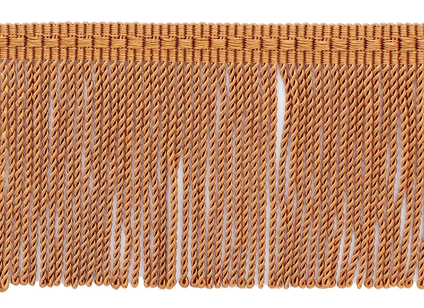 DéCOPRO 24 Yard Package - 3 Inch Long Terra Cotta Thin Bullion Fringe Trim, Style# BFTC3 Color: K50 (72 Ft / 21.9 Meters) gnwmsc5699174