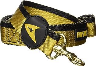 Crowded Coop Star Trek Uniform Leash/Gold