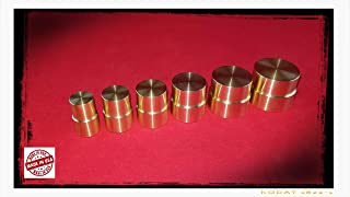 Double Sided Brass Push Rod Set for Swedish Method Coin Ring Tools
