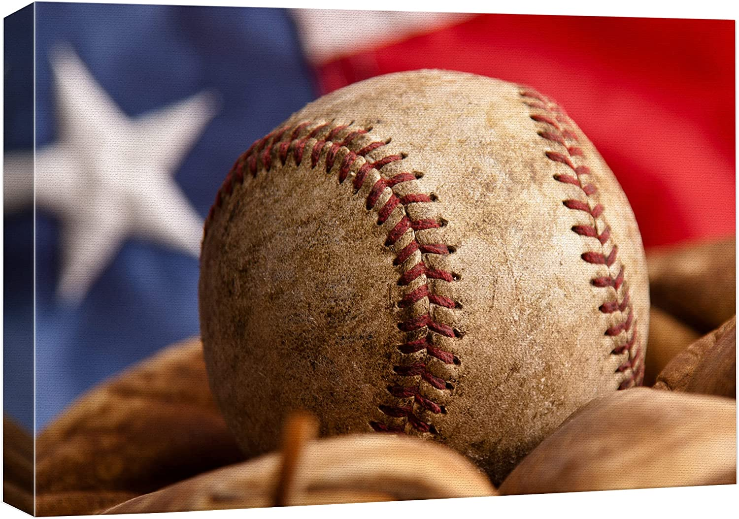 wall26 - America's Pastime Baseball and mitt F Front The in Max Recommended 53% OFF of