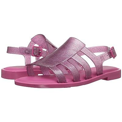 Mini Melissa Mel Boemia (Little Kid/Big Kid) (Glossy Pink) Girl