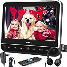 """Vanku 10.1"""" Car DVD Player with Headrest Mount, Wall Charger, Headphone, HDMI, Support 1080P Video, AV in Out, Region Free..."""