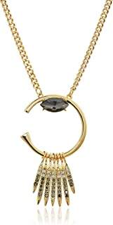 Rebecca Minkoff Peyton Deco Gold Pendant Necklace