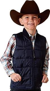 Roper Boys` Outerwear Rangegear Down Vest