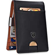 "Money Clip Wallet""RIO"" - Mens Wallets slim Front Pocket RFID Blocking Card Holder Minimalist Mini..."