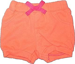 Cherokee Coral Peach Baby Girl Shorts, Newborn, 0-3 Months