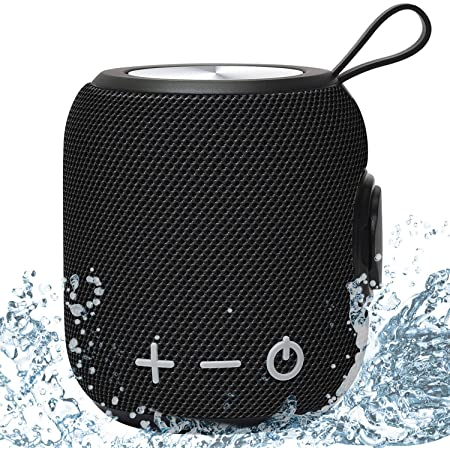 Portable Bluetooth Speaker,SANAG Bluetooth 5.0 Dual Pairing Loud Wireless Mini Speaker, 360 Surround Sound & Rich Stereo Bass,24H Playtime, IPX67 Waterproof for Travel, Outdoors, Home and Party