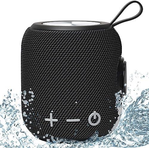 SANAG Bocina Bluetooth, Altavoz Bluetooth portátil con 10W Sonido Estéreo HD, 1800 mAh 24 Horas de Tiempo de Trabajo,...