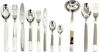 Mepra 100422099 Set, [99 Piece, Stainless Steel Finish, Dishwasher Safe Cutlery