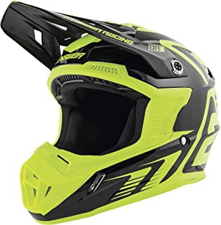 Answer 2019 Youth AR1 Helmet - Edge (Large) (Black/Hyper Acid)