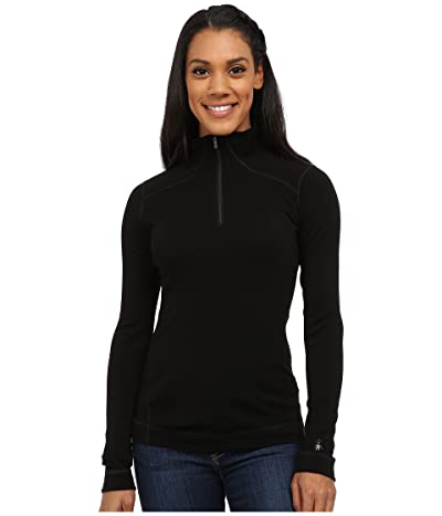 Smartwool NTS Mid 250 Baselayer Zip Top (Black) Women