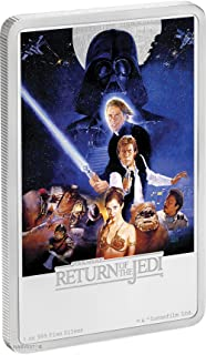 2017 NU Disney Star Wars The Return of the Jedi Poster Coin - 1 oz. Silver Coin - with original Mint packaging and COA $2 Brilliant Uncirculated