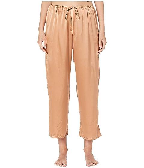 Skin Rosetta Silk Ankle Pants