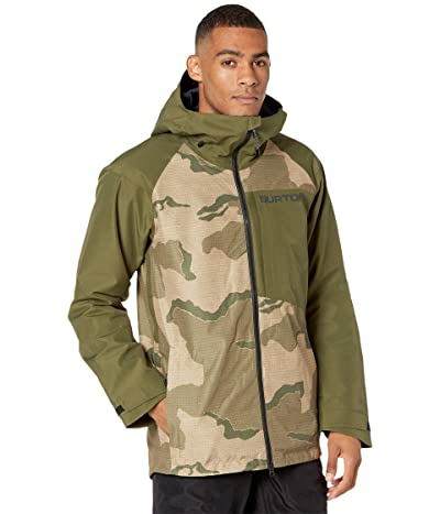 Burton GORE-TEX(r) Radial Insulated Jacket (Barren Camo/Keef) Men