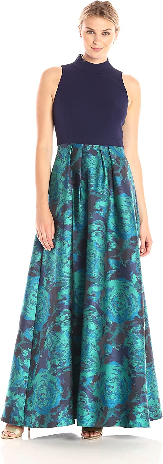 Decode 1.8 Women's Solid Halter with Printed Skirt