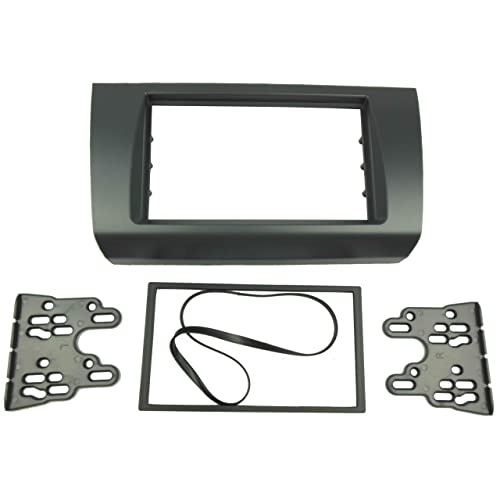 DKMUS Double Din Radio Stereo Dash Installation Trim Kit for Suzuki Swift 2004-2010 Fascia