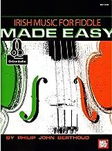 Berthoud, Philip John - Irish Music for Fiddle Made Easy - Violin solo - Book/CD set