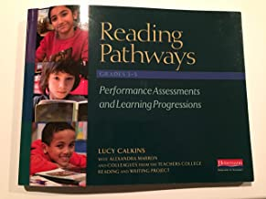 Reading Pathways Grades 3-5 Performance Assessments and Learning Progressions