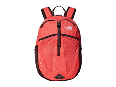 The North Face Recon Squash Backpack (Youth) (Paradise Pink/Root Brown) Backpack Bags