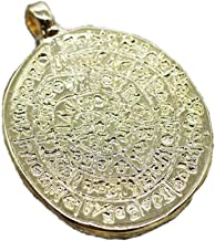 Golden Horn Jewelry Supplies 24K Shiny Gold Plated Egypt Coin Pendant, Gold Pendant, Gold Coin Charms, Roman Pendants, Medallion Pendant, Coins, Ancient Pendants, Gold Coins