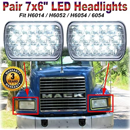 Driver Side Mack CH Headlight 1990-07 Left