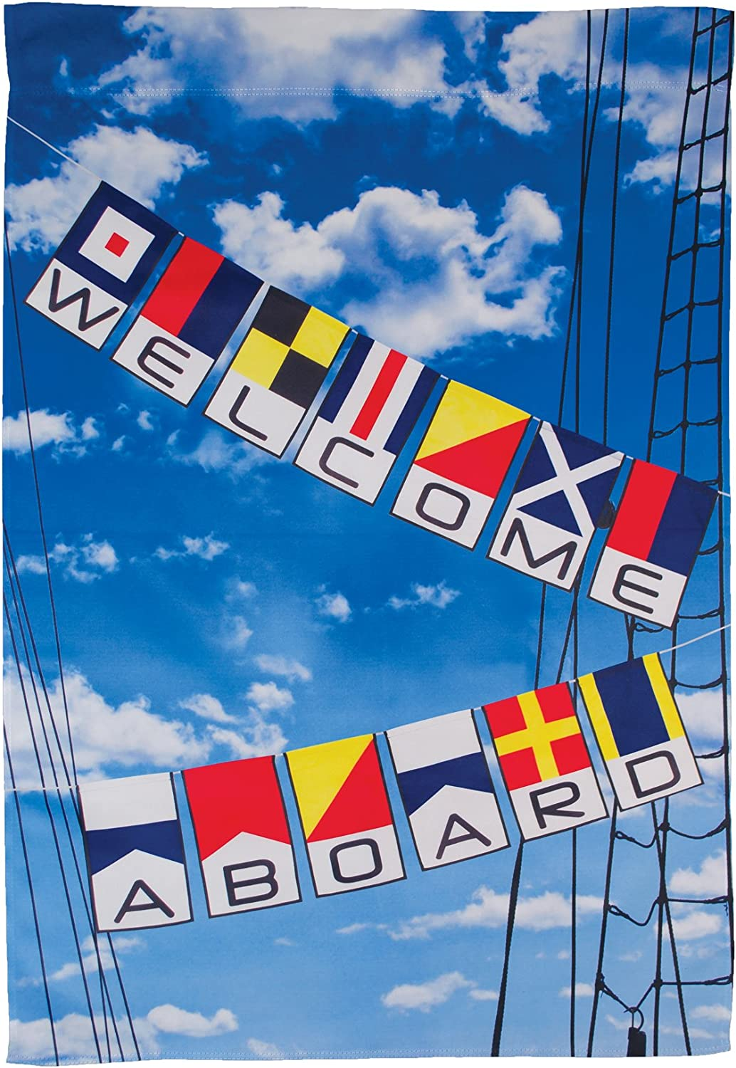 In the Breeze 7308 Max 61% OFF Welcome House Aboard Double-Sided Limited price Banner Lust